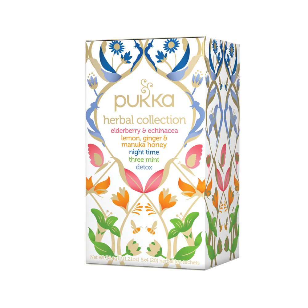 Pukka Herbal Heroes Collection Tea with 20 Teabags -