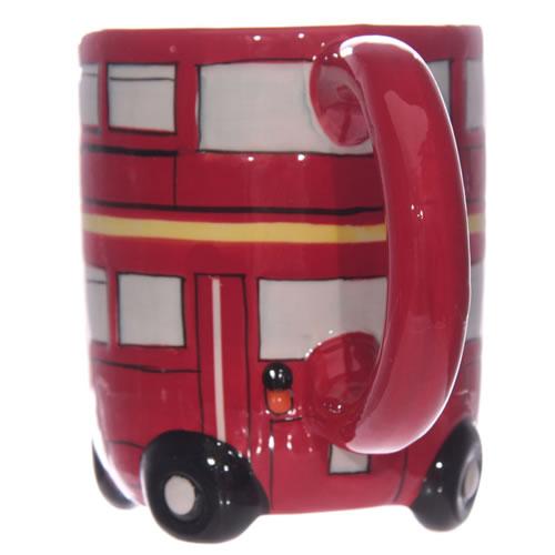3D Shaped Routemaster London Red Bus Mug