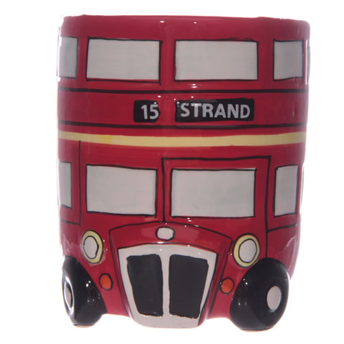 3D Shaped Routemaster London Red Bus Mug